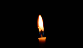 Religion light candle. Stock Images