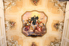 Religion roof mural Stock Photography