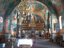Religion ortodox romania stock photography