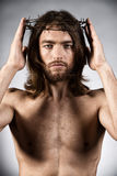 Religion. Portrait of Jesus Christ. Religion Stock Image
