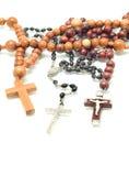 Religion - programmes au-dessus de blanc Photo stock
