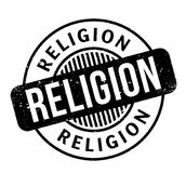Religion rubber stamp. Grunge design with dust scratches. Effects can be easily removed for a clean, crisp look. Color is easily changed Royalty Free Stock Image