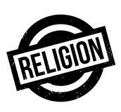 Religion rubber stamp. Grunge design with dust scratches. Effects can be easily removed for a clean, crisp look. Color is easily changed Royalty Free Stock Photo