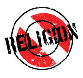 Religion rubber stamp. Grunge design with dust scratches. Effects can be easily removed for a clean, crisp look. Color is easily changed Royalty Free Stock Photos