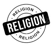 Religion rubber stamp. Grunge design with dust scratches. Effects can be easily removed for a clean, crisp look. Color is easily changed Royalty Free Stock Images