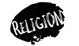 Religion rubber stamp. Grunge design with dust scratches. Effects can be easily removed for a clean, crisp look. Color is easily changed Stock Photos