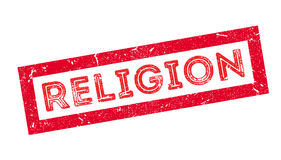 Religion rubber stamp Stock Photos