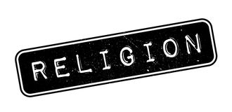 Religion rubber stamp Royalty Free Stock Images