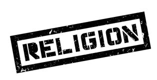 Religion rubber stamp Stock Photography