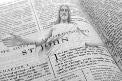 Religion sainte de chant religieux de Word de bible Photographie stock libre de droits