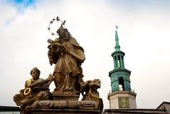 Religion statue Stock Image