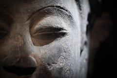 Sculpture of buddha closeup Royalty Free Stock Photos