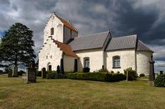Religion Suède d'église de Ravlunda Images libres de droits