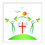 Religion symbol Stock Photography