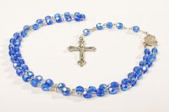 Religion symbol rosary fro prayers Stock Image