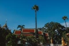 Religion in Thailand Goldener Tempel von Buddha-Platz für das Beten buddhismus Religiöses Symbol Reise stockfoto