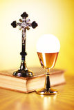 Religion. Theme, set of different  accessories Royalty Free Stock Images