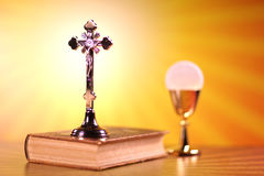 Religion. Theme, set of different  accessories Royalty Free Stock Image