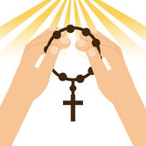 Religione cattolica illustrazione vettoriale