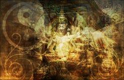 Religione del gruppo della società segreta Fotografia Stock