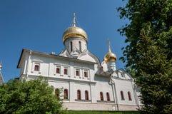 Religione del monastero della chiesa Immagine Stock Libera da Diritti