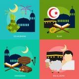 Religione e celebrazioni illustrazione vettoriale