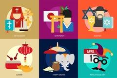 Religione e celebrazioni Immagine Stock
