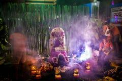 Religione tradizionale di buddismo di festival di Navarati della Tailandia Immagine Stock Libera da Diritti