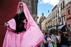 Religionen in Mexiko - Santa Muerte Lizenzfreies Stockfoto
