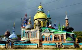 Religioner för tempel allra, Kazan, Ryssland Royaltyfria Foton