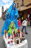 Religioner i Mexico - Santa Muerte Arkivbilder