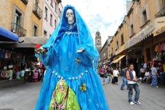 Religiones en México - Santa Muerte Imágenes de archivo libres de regalías