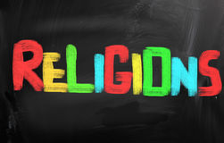 Religions Concept Royalty Free Stock Image