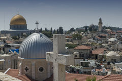 Religions in Jerusalem Royalty Free Stock Photos