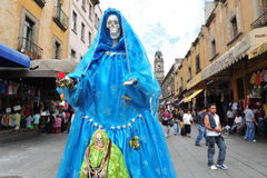 Religions in Mexico - Santa Muerte Royalty Free Stock Images