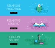 Religionserziehung Religiöse Studien Religiöser Kurs Stockfotos