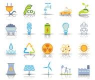 Religionsymbolsuppsättning stock illustrationer