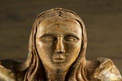 Religiosa de Talla de Madera fotografía de archivo libre de regalías