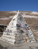 Religious. Tibetan religious stone in Tagong, Sichuan province, China Stock Photography