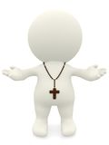 Religious 3D person Stock Photos