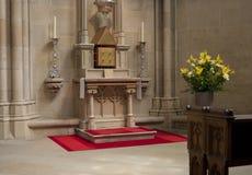 Religious altar Stock Photo