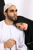 Religious Arabic Husband Stock Image