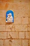 Religious Architectural Plaque 1 Stock Image