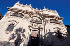 Religious Architecture in Catania. Stock Images