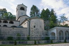 Free Religious Architecture. Montenegro. View Of Ancient Cetinje Monastery Royalty Free Stock Images - 140136059
