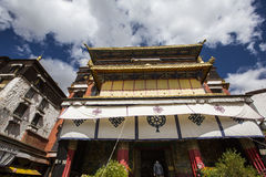 The religious architecture of the qinghai-tibet plateau Stock Images