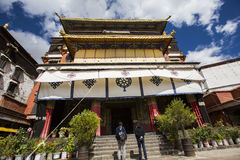 The religious architecture of the qinghai-tibet plateau Royalty Free Stock Photography