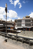 The religious architecture of the qinghai-tibet plateau Stock Photos