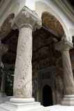 Religious Archway at a Monastery Church in Romania Stock Images