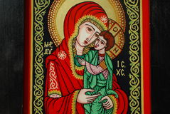 Religious art Stock Image